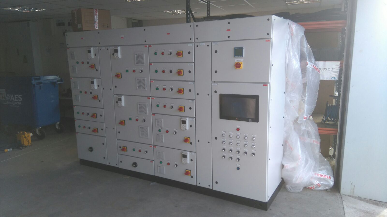 Control-Panel Assembly - RCC Engineering